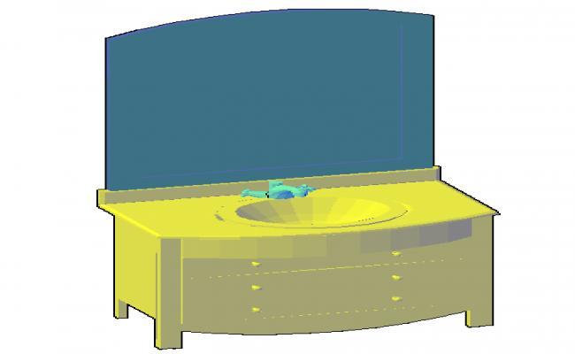3D Vanity sink