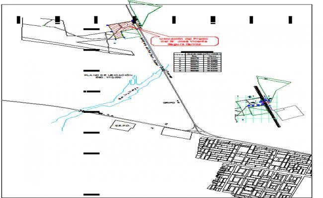 Urban town planing detail