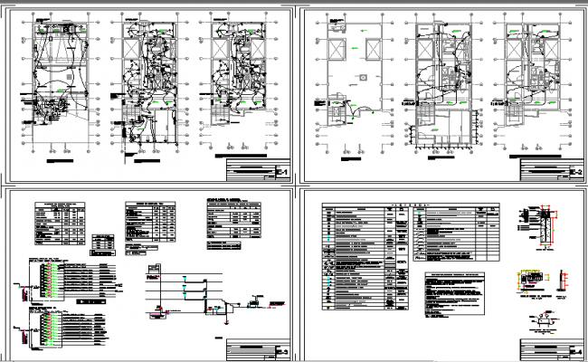 Electrical Detail lay-out