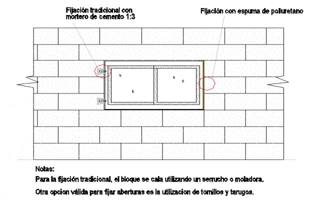 Ventilation With wall Detail