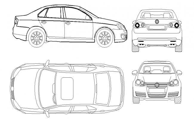 2D Car Block Design