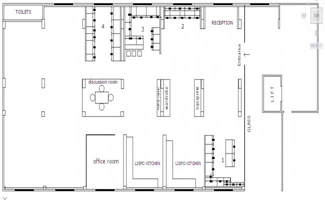 Show Room Lay-out