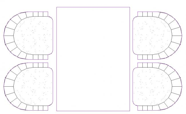 Dining table Block Design