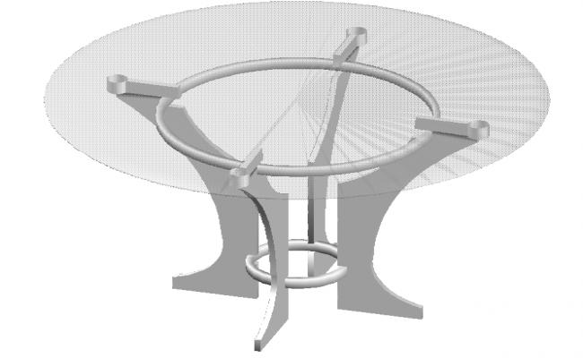 Dining centre Table Block