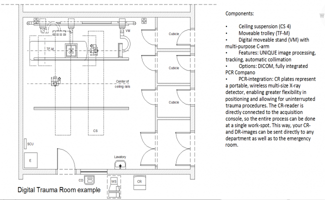 X-Ray Room plan