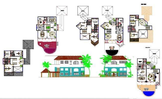 Tourist House Plan Project