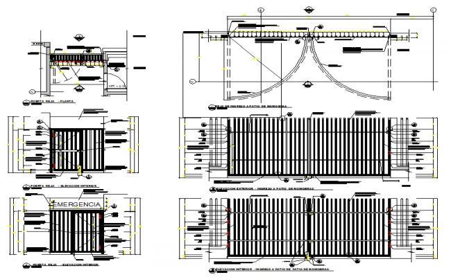 Main Gate Design Plan