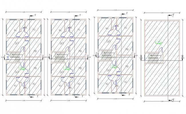 1600 Sq Ft Apartment 2 BHK House Plan Design