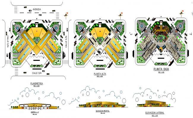 Urban Market design plan