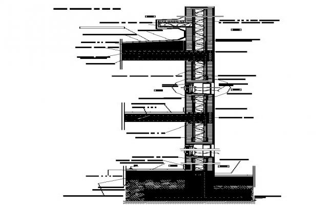 Building section detail