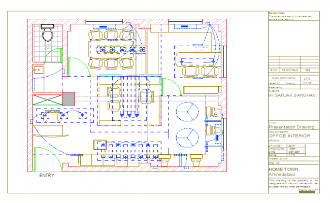 Office Elctric point detail