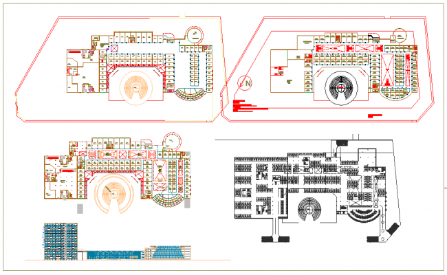 Tower Floor plan