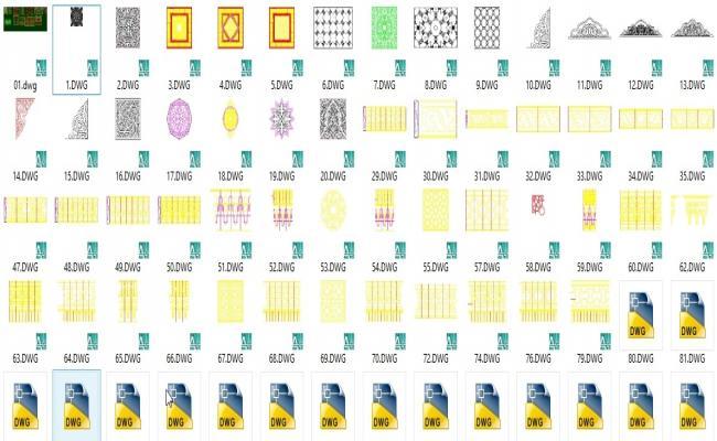 189 pattern + ornaments  + designs BLOCKS