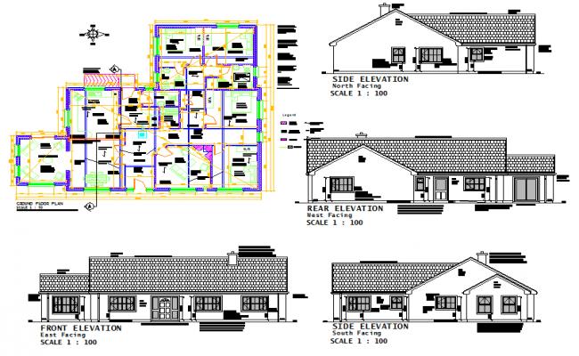House Drawing plan
