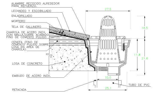 Drain Structure Detail