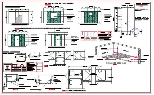 Structure Beam & Column Detail