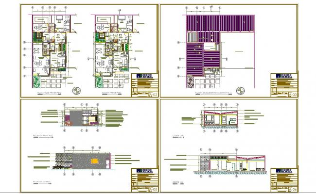 Engineering office design in cad