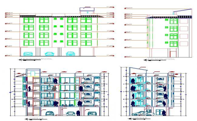 Hotel 4 Storey ground parking