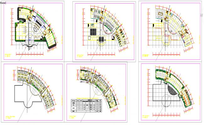 Elevation For Circular Plan : Star circular hotel design plan