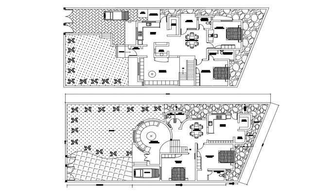 2 Bedroom House Plan East Facing