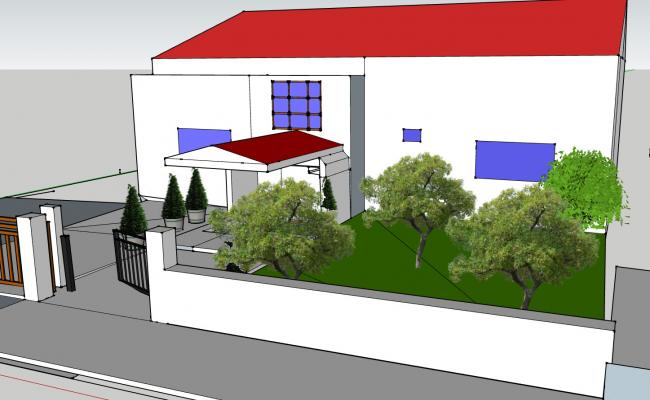 2 Bedroom house with a Garden