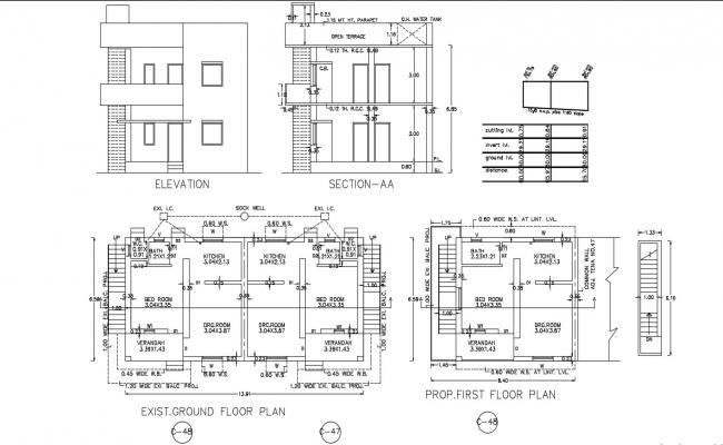 2 Storey Twin House Project