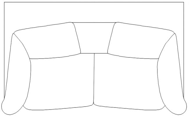 2 seater sofa dwg file