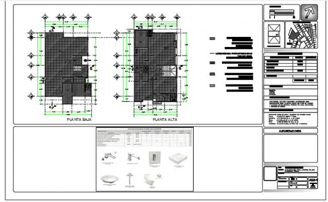2 storeys - 1 family housing