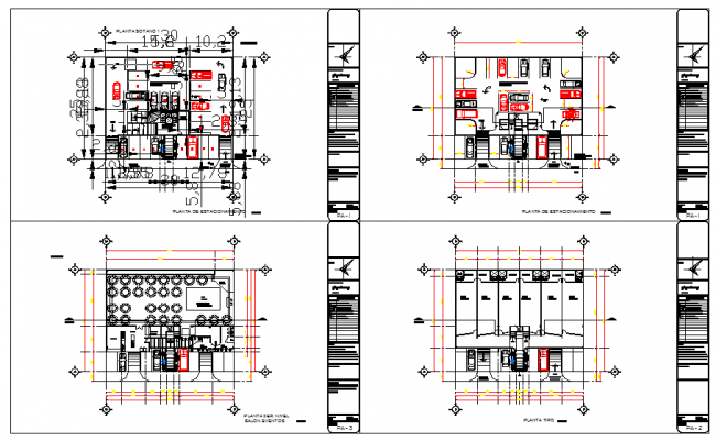 Party Hall Plan