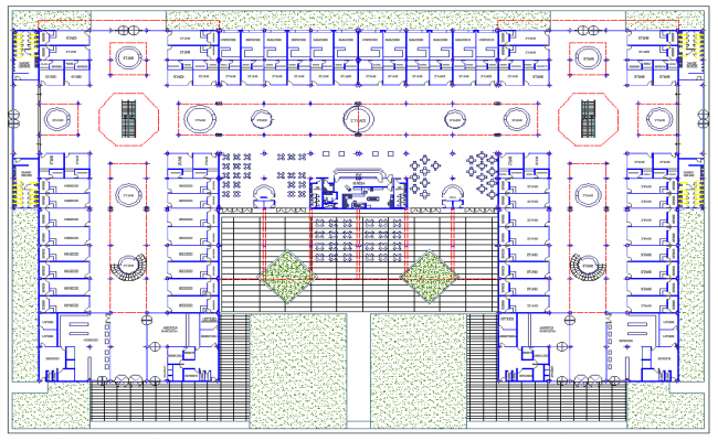 Shopping Centre  Lay-out