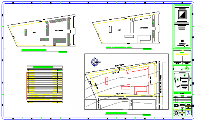 Site map drawing design of sharing school of knowledge