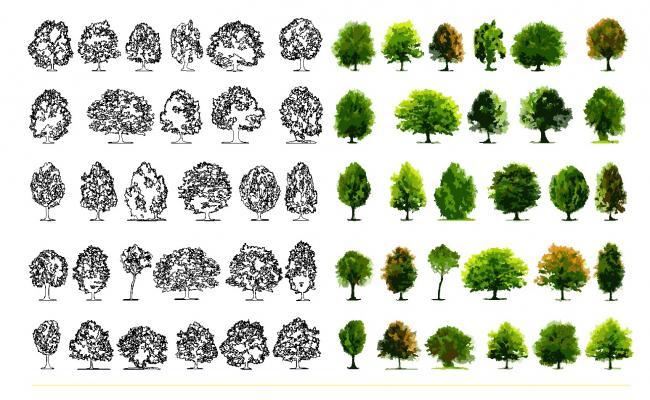 3D Tree Block