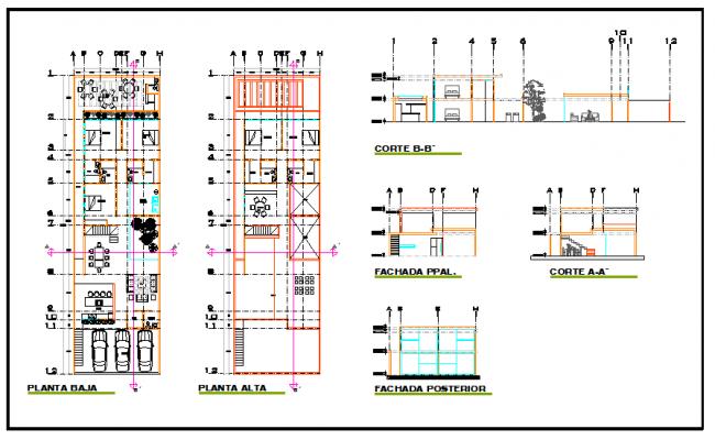 House design DWG