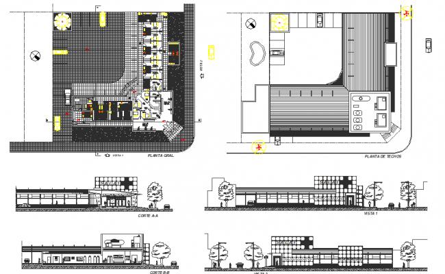 Sanitary room detail