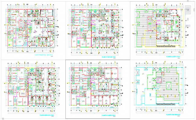 Clinic design plan Autocad file