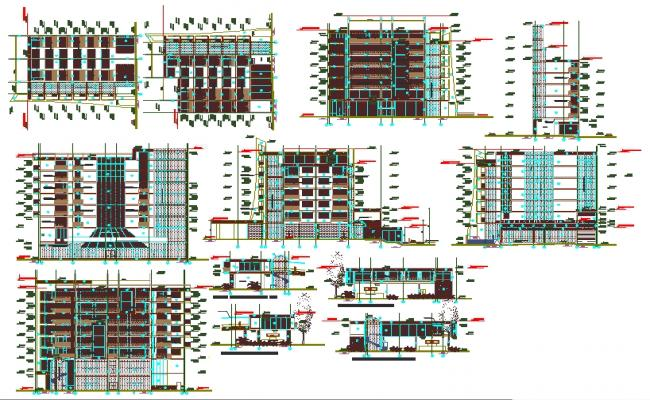 Hotel Design plan