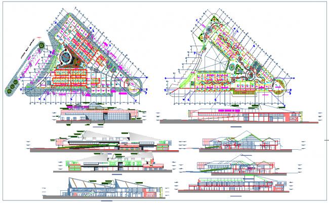 Shopping Centre plan