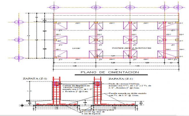 Foundation Lay-out