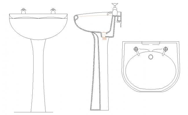 Standing Wash Basin