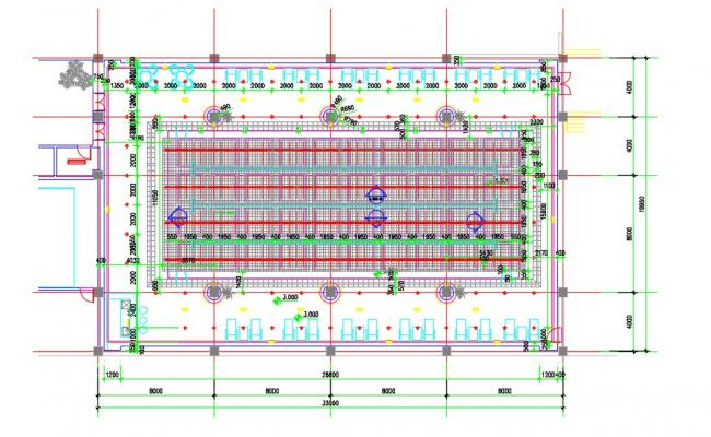2D CAD Drawing Swimming Pool Designs And Plans AutoCAD File