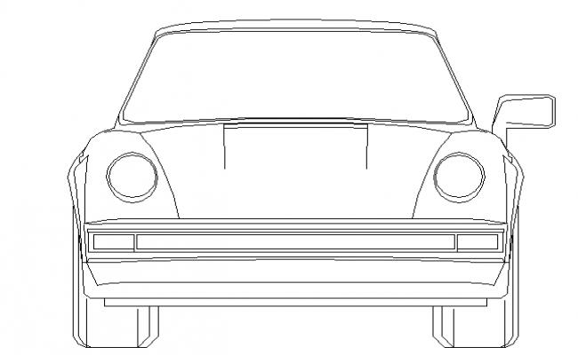 2D car elevation details