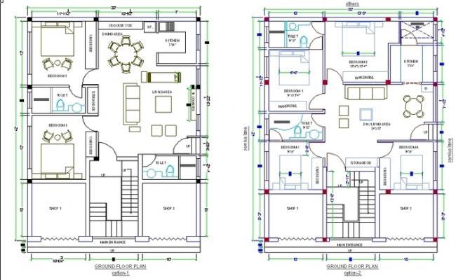 2D house