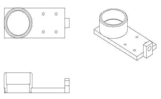 2D Engineering - Bearing Block Slide