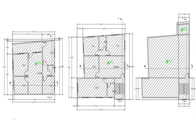 2 Different Option Of House Plan AutoCAD Drawing