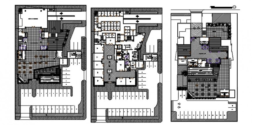 2 d cad drawing of apartment house plan Auto Cad software