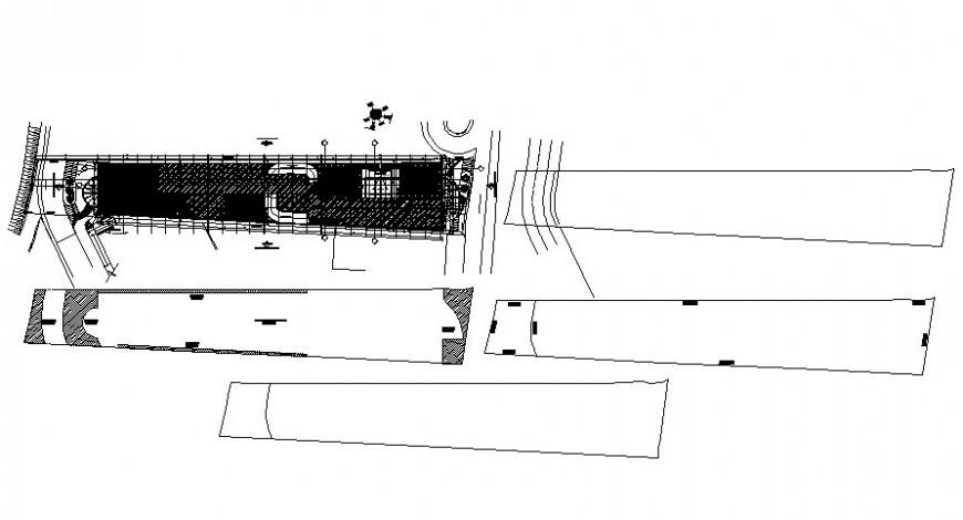 2 d cad drawing of articx plot Auto Cad software