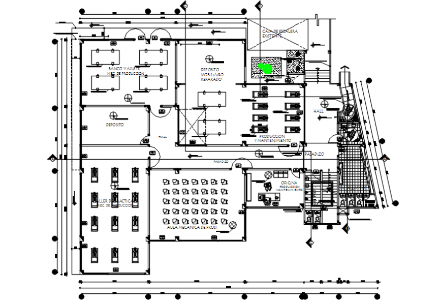2 d cad drawing of college Auto Cad software