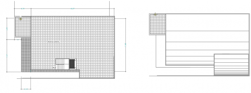 2 d cad drawing of corporate building hatch auto cad software