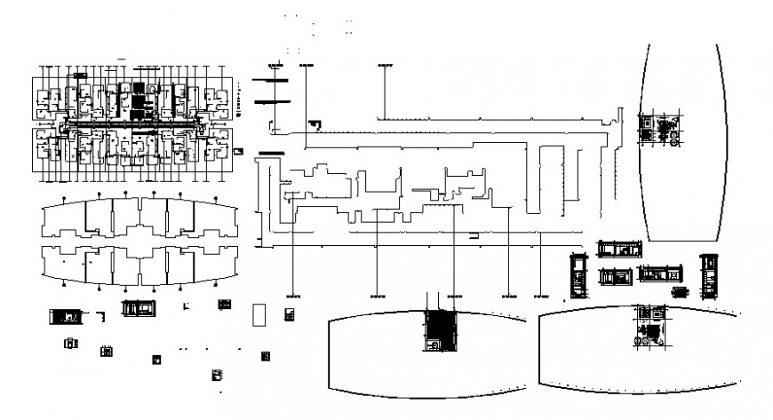 2 d cad drawing of flat 1 auto cad software