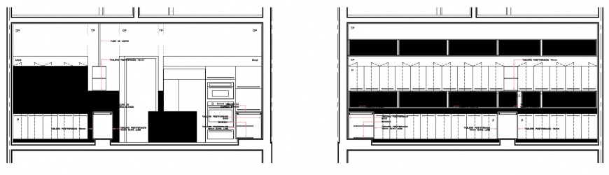 2 d cad drawing of front elevation auto cad software
